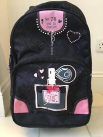 Wheeled Backpack bag for girls