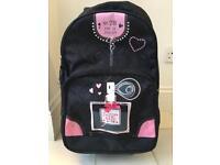 Wheeled Backpack bag for girls