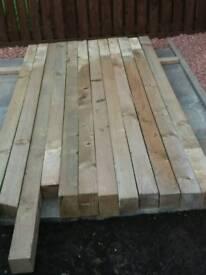 4x4 garden posts