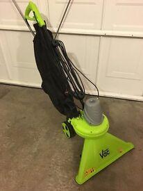 Twinned Wheel Garden Gear Vac with Integrated Shredder