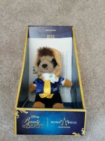 Limited edition beauty and the beast meerkat toy