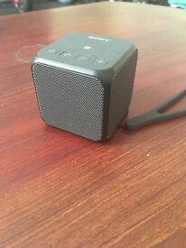 Sony portable Bluetooth cube speaker