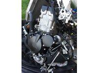 2007 Suzuki GSXR 750 engine