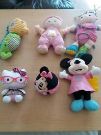 Doll bundle - lamaze and talking Minnie Mouse