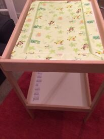 Baby Changing Table £20