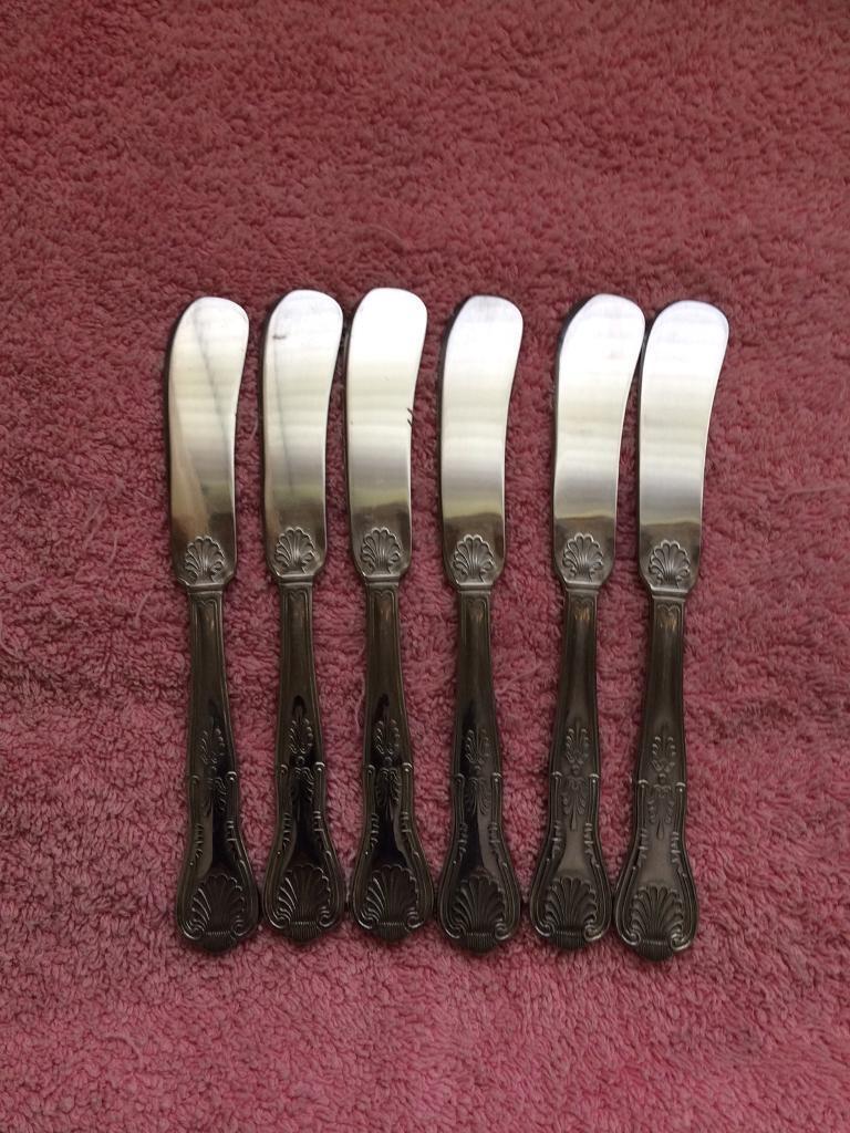 Set of 6 Butter Knives