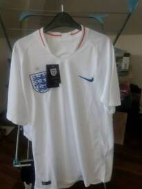 mens England home shirt