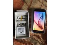 Samsung Galaxy S6 64GB, unlocked, black sapphire, excellent condition.
