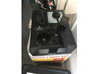 Remote control vertical shoot smoke machine excellent condition & very powerful, look at pictures