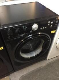 Black hotpoint 7kg washing machine with 6 mth warranty