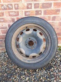 3 steel fiesta wheels
