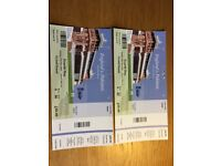 England v Pakistan - 1st Test Match - Day 4 Tickets - Lords - Grandstand Lower x2