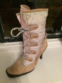 Nine West faux fur lined boots