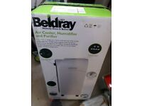 Air conditioner and humidifiers