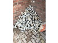 Flints, FREE, whole, 4 square meters