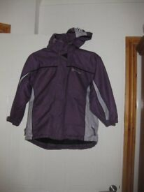 CHILDS COAT TOG24 (EXPENSIVE BRAND) waterproof / windproof - FABULOUS! age 7-8 REDUCED AGAIN TODAY!