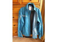 BMW motorrad Rainlock waterproof suit blue oversuit motorbike jacket L, grey trousers M