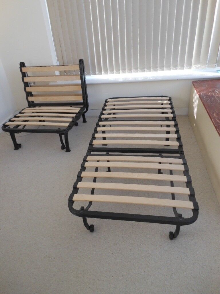 Ikea Chair Bed Frames Strong Metal Frames With Slats