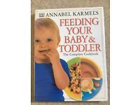 Annabel Karmel's feeding your baby & toddler cookbook weaning