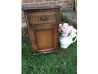 Vintage Priory bedside cabinet