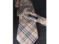 Authentic Burberry tie