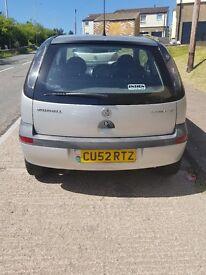 2002 Vauxhall Corsa 1.2