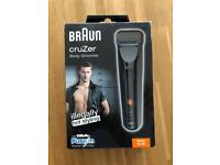 NEW - Braun Cruzer men's body trimmer