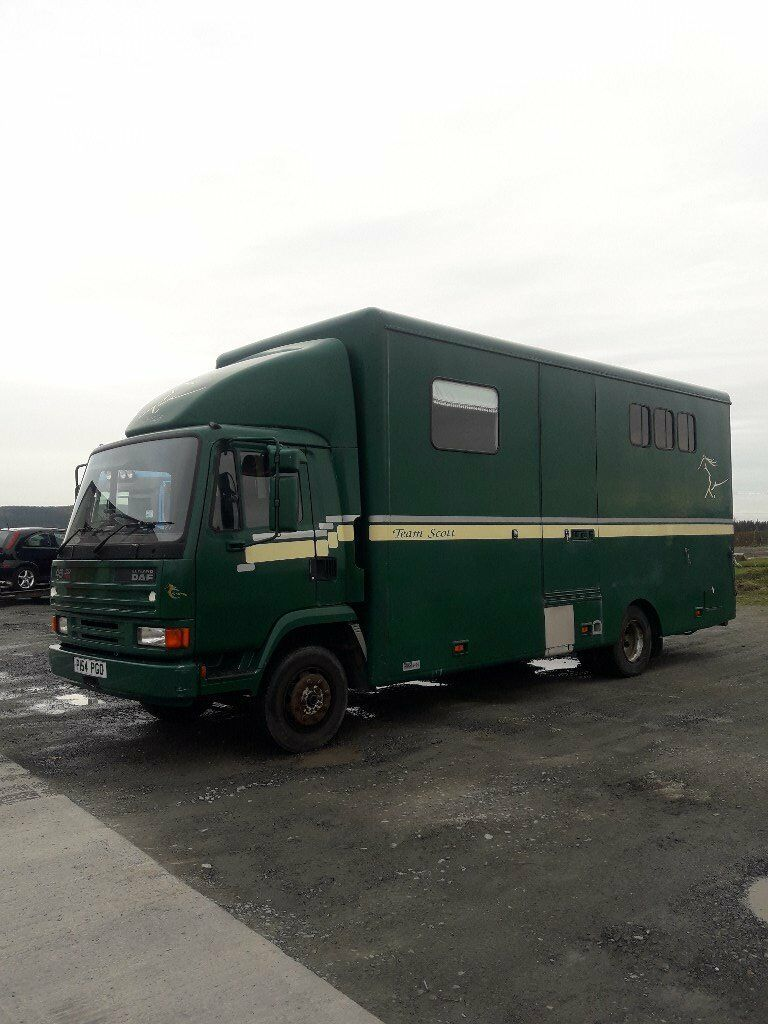 Ladies 7.5t Horsebox
