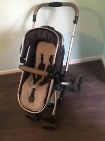 Mothercare orb and maxi-cosi cabriofix carseat