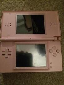 Nintendo pink Ds Lite