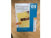 A3 glossy inkjet paper, 180gsm, HP C6821A, 3 sealed packs of 50 sheets each