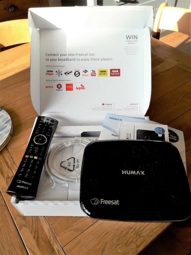 HUMAX HB1100S Freesat HD TV Set Top Box - With Remote Control | in Sowerby,  North Yorkshire | Gumtree