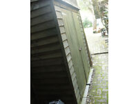 Shallow Garden shed