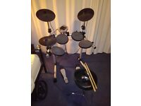 Digital Drums 400 Gear4Music Compact Electronic Drum Kit