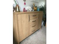 Oak sideboard and tv stand