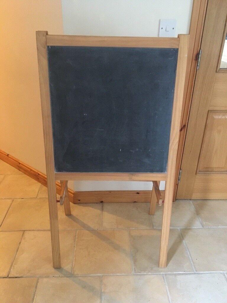 Ikea Mala Easel Blackboard Whiteboard In Comber County