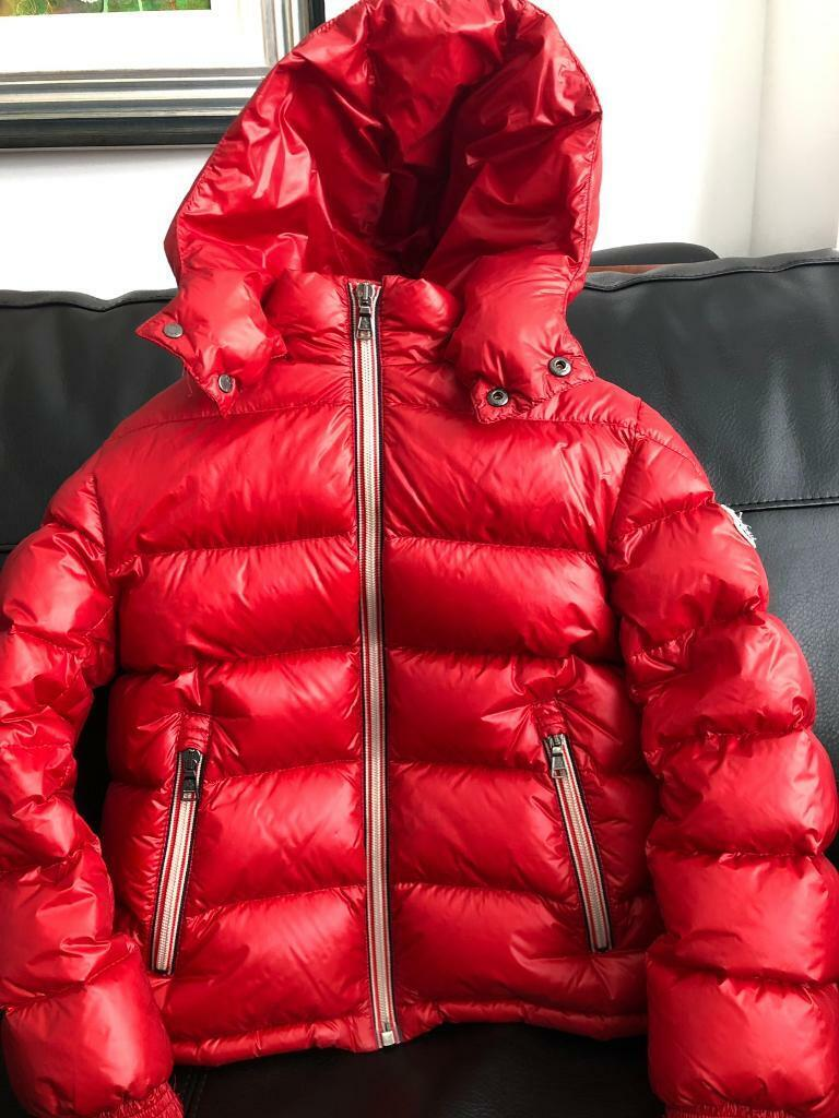 be2202ca3 MONCLER ENFANT Red Down Padded Jacket | in Middlesbrough ...