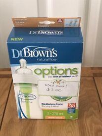 Dr Browns babies bottles