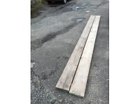 13 ft used scaffold boards