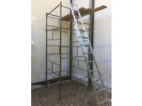 Used Scaffold Tower in good condition, ideal for house painting etc.