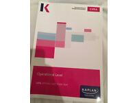 Kaplan CIMA Operational Case Study OCS Text