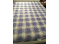 Brand new and unused sprung double matress