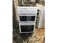 "Hotpoint ceramic electric cooker 50"" cm"