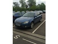 SUPERB SUBARU OUTBACK 2007 2,5 NEW MOT , FULL LEATHER SEATS, GREAT CONDITION
