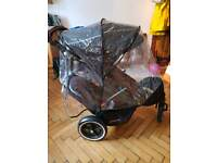 Phil and Ted's double Sport buggy plus travel case