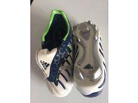 Kids Adidas football boots size 12 1/2.