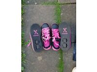 Wheeles skate shoes size 4