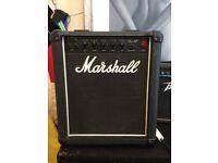 Marshall bass 12 amplifier model 5501