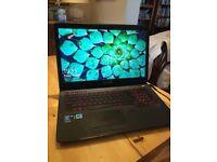 """ASUS ROG G751J 17.3"""" (i7, 2.5GHz,16GB, Geforce 970M,1Tb+128Gb) Gaming Laptop"""