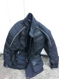 Motorcycle jacket kids textile size s(age approx)6 to 8